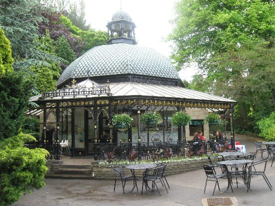 Харрогит, UK: Valley Gardens cafe