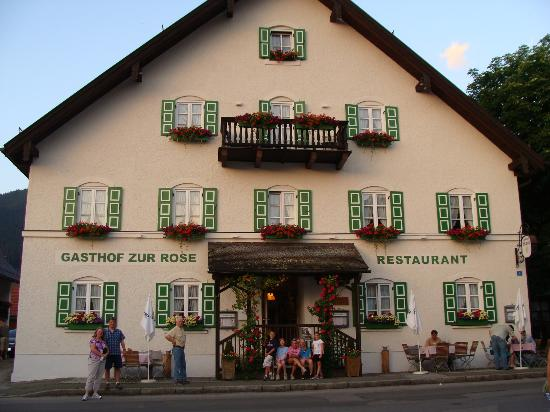 Gasthof Zur Rose : Front of B&B