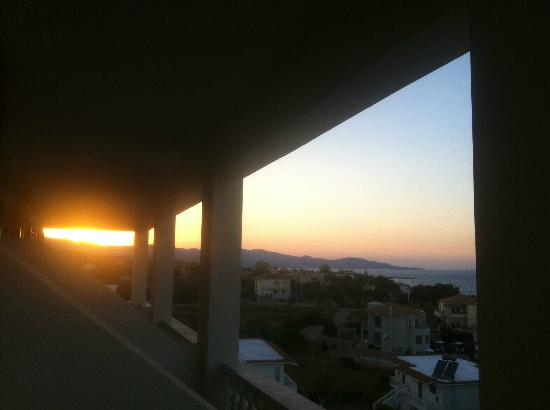 Tsamis Zante: Sea view balcony view