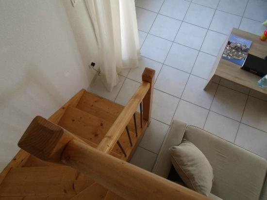 Résidence Cap Med : Stairs