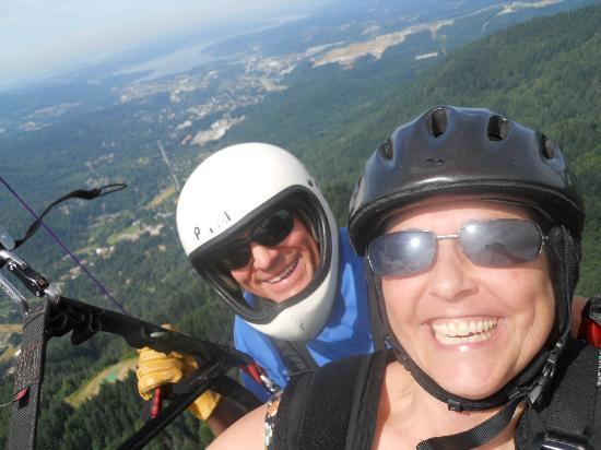 Parafly Paragliding: Steve Wilson flying me.