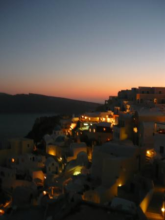 Old Oia Houses: Beautiful view