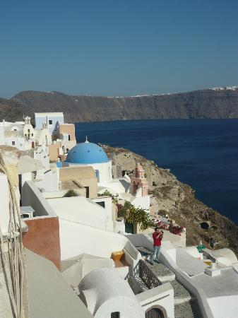 Old Oia Houses: Gorgeous view