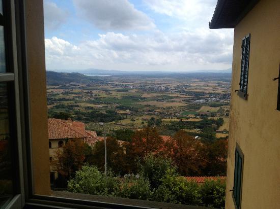 Villa Marsili: Lovely view from my bedroom