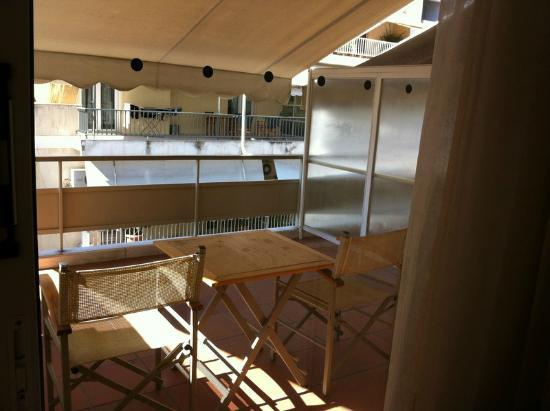 Acropolis Select Hotel: Balcony