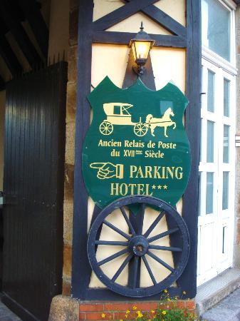 Hotel de la Croix d'Or : Como las antiguas posadas.