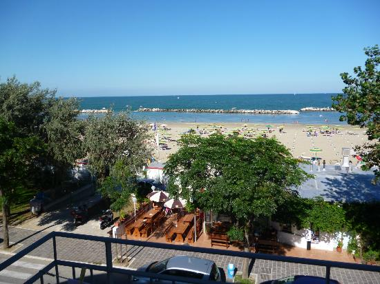 Hotel Acquario: dalla camera fronte mare