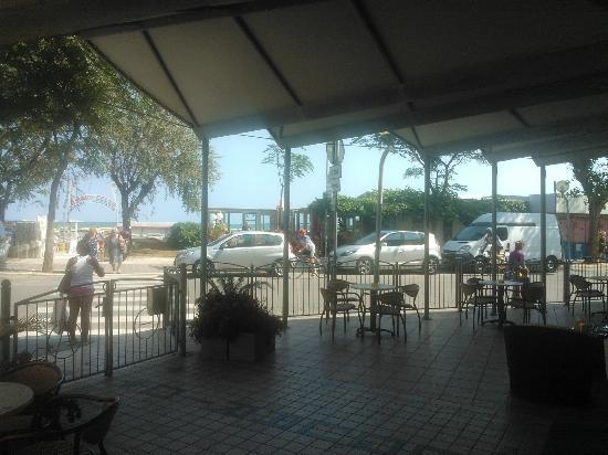 Hotel Acquario: veranda