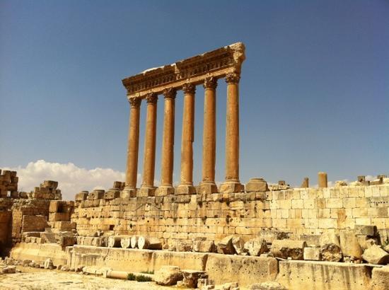 Temples de Baalbek : Baalbek east