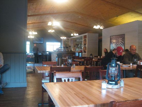 Denali Cabins: Prey restaurant