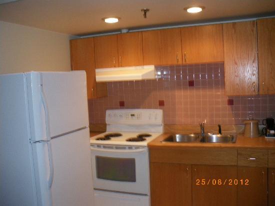 Banff Inn: complete keukeninrichting
