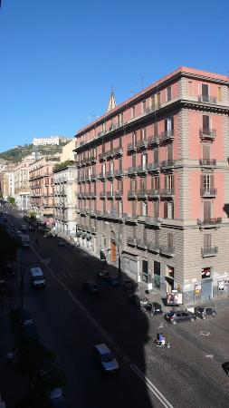 Bovio Suite Hotel : vista dalla finestra della camera