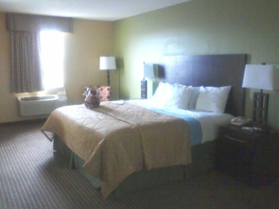 Days Inn Perryville: Very nice updated/modern rooms