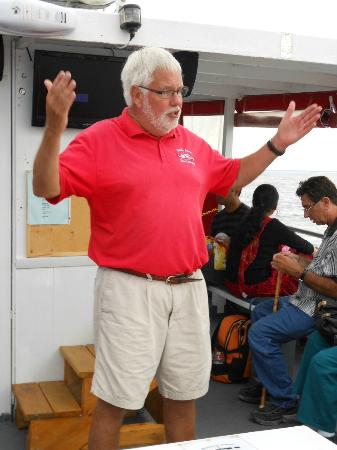 Ugly Anne Boat Cruises: Our tourguide