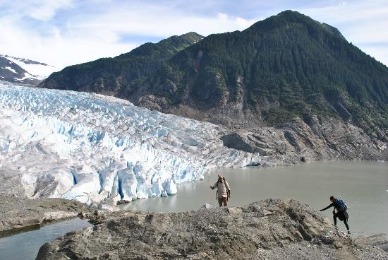 Above & Beyond Alaska: glaciar