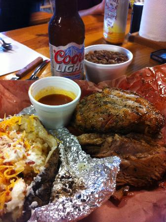 Cooper's Old Time Pit Bar-B-Que: Fantastic Meal, as always!