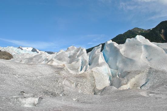 Above & Beyond Alaska: mendenhall glacier