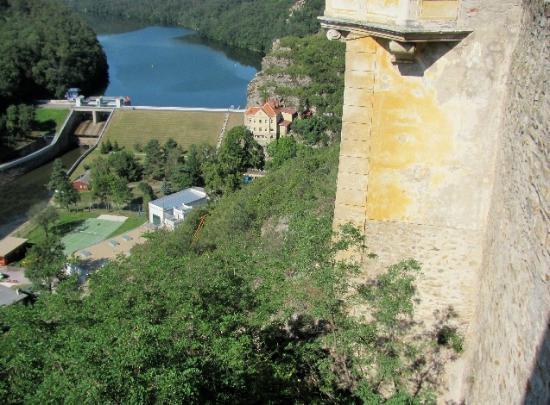 Znojmo Dam: view