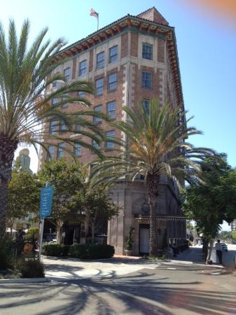 The Culver Hotel taken from one of our walks