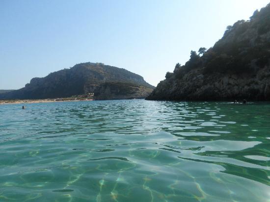 Gialova, Grecia: Vista por la entrada