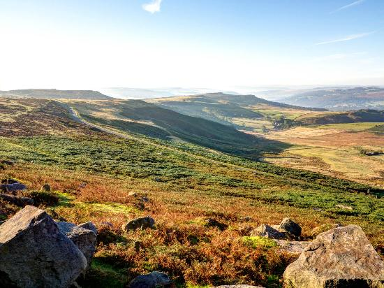 One of many views from Stanage Edge