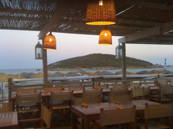 Spiaggia di Tuerredda : Poseidon cena