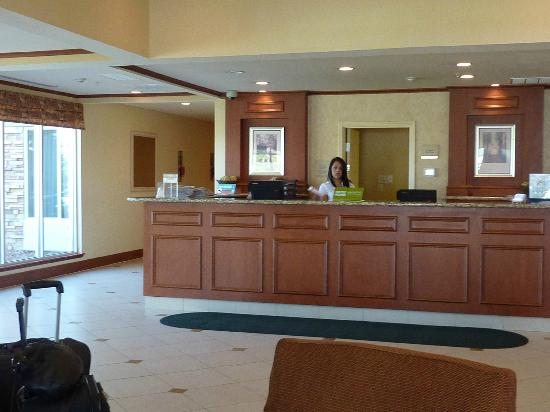 Hilton Garden Inn Colorado Springs Airport: Reception