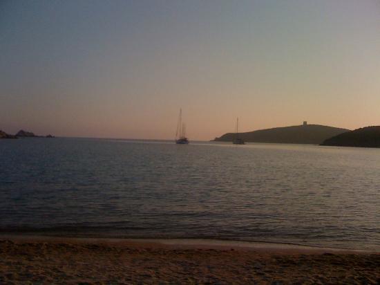 Spiaggia di Tuerredda : Tramonto