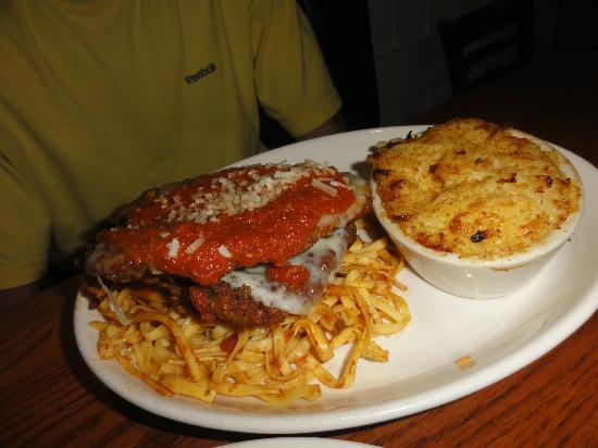Summer House: chicken parm with potato gratin