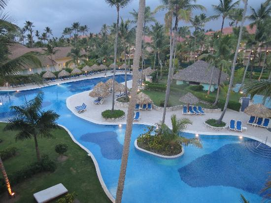 Majestic Colonial Punta Cana : The beautiful scene from our balcony