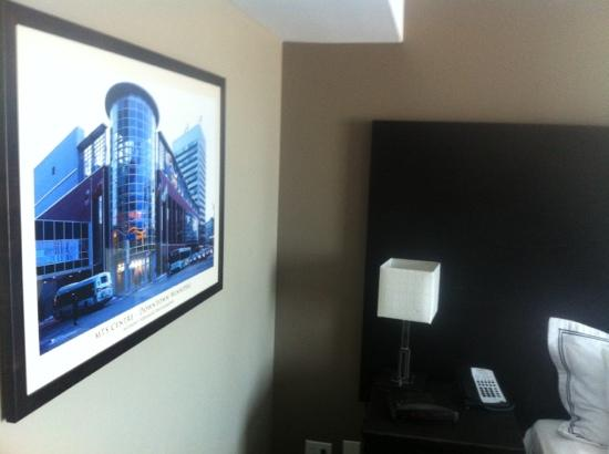 Radisson Hotel Winnipeg Downtown: king room