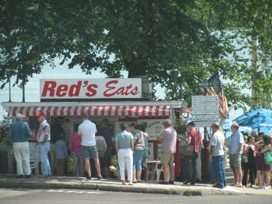 Red's Eats: just an average day!