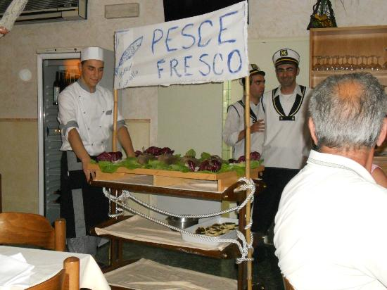 Hotel Corallo: cena marinara
