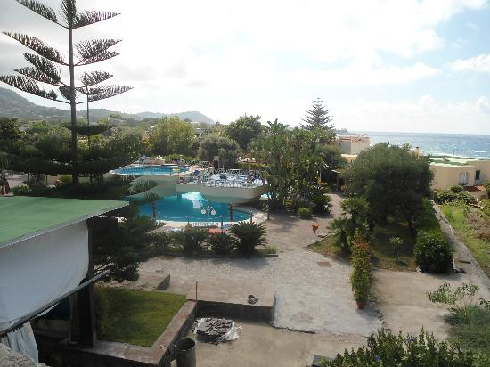 Hotel Zaro: Vista piscine