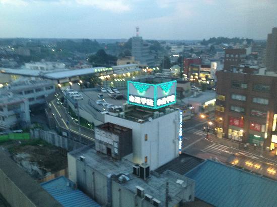 Mercure Hotel Narita: View of Narita Train station from window
