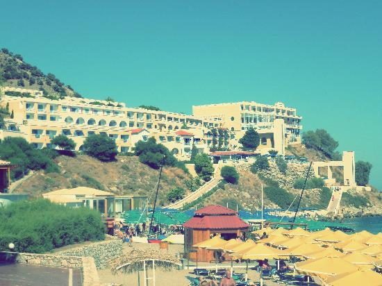 Wunderschönes Hotel.Mitsis summer Palace.