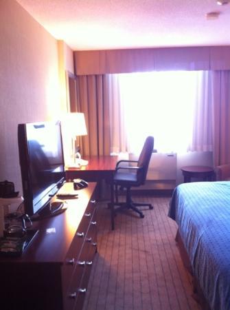 Holiday Inn & Suites Winnipeg Downtown: flat screen tv
