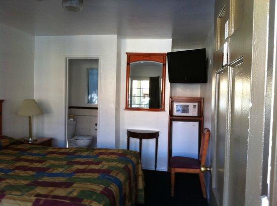 Rose Bowl Motel : la chambre