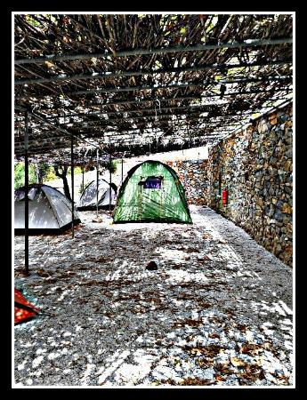Kastanis Camping and Studios: πρωτος οροφος καμπινκγ
