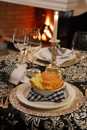 "La Table D""Or Mediterranee: Souffle de Queijo Gruyère"