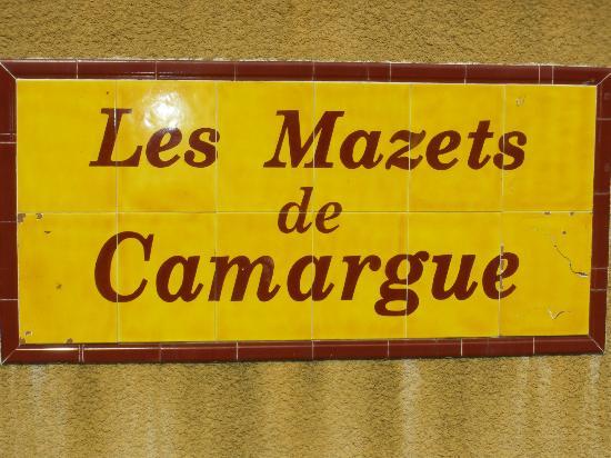 Apartamentos Maeva Club Mazets: Schild der Anlage