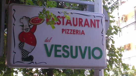 Restaurant, Pizzeria, del Vesuvio: Pizzera del Vesuvio
