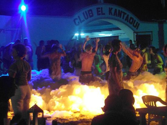 El Mouradi Port El Kantaoui : Foam Party at the Club next door!