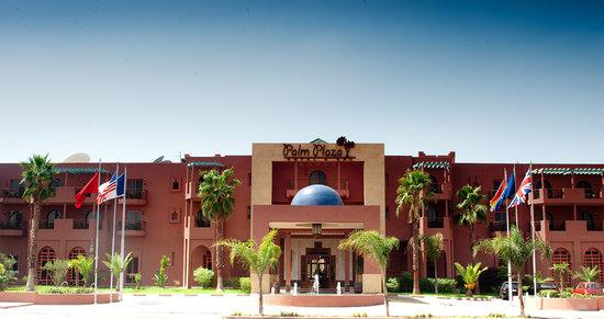 Palm Plaza Marrakech Hotel & Spa: Porte principale