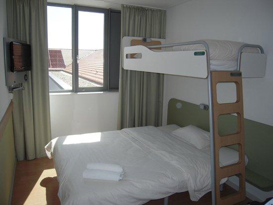 Le nuove stanze dell'Hotel Ibis Budget Dresden City