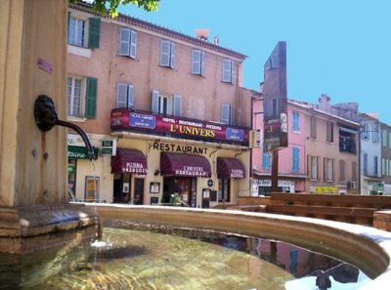 Hotel Restaurant L Univers Pierrefeu Du Var