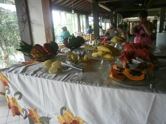 Hotel Pousada Aguazul: desayuno
