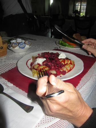 Auberge du Manoir Dauth : petit déjeuner