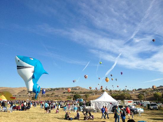 Silver Legacy Resort and Casino: Balloon Races