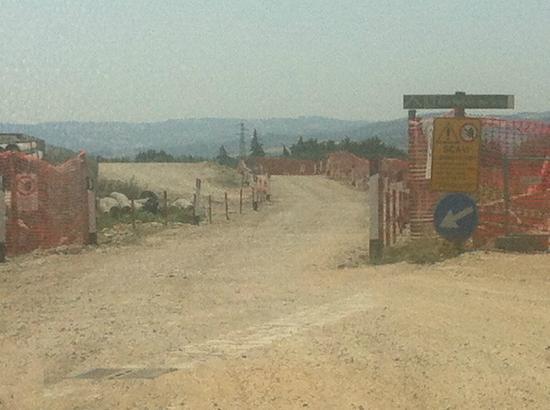 Nova Siri, Italia: strada x arrivare al villaggio